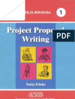 Project Proposal Writing
