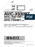 PIONEER AVIC X930BT Service Manual en