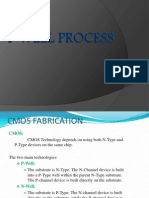 VLSI - P Well Process