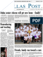 The Dallas Post 09-16-2012