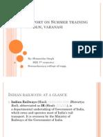 64559155 Report on Summer Training at Dlw Varanasi