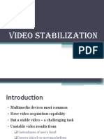 video stabilization Abstrct Pres Ppt