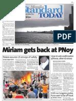 Manila Standard Today - Monday (September 17, 2012) Issue