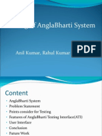 03-Testing of AnglaBharati System