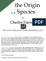 Darwin On The Origin Of Species Pdf