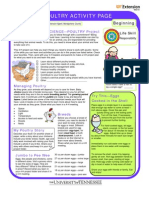 TN 4H Poultry Activity Sheet