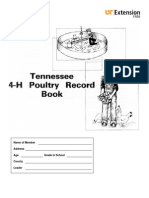 TN 4h Poultry Record Book