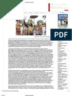 Sukumar - Article Mahabali Keralatthil mathram? in Kalakaumudi Weekly