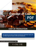 Concept of Cost