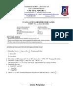 Soal UTS 1 Kelas XI Teknik