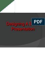 Designing a Sales Presentation