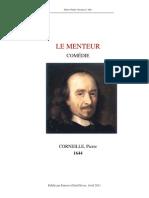 P. Corneille - Le Menteur