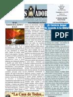 """2012-09-16 """"EL CONQUISTADOR"""" Boletín Semanal de La casa de Todos"""