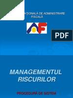 Procedura de Sistem Managementul Riscurilor Final