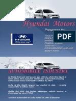 Hyundai Motars PPT