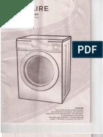 Frigidaire Lavasecadora Manual de Instrucciones