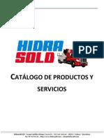 Hidrasold - Catálogo general de productos y servicios