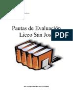 1 Material de Apoyo Al Proceso de Ensenanza Aprendizaje INSTRUMENTOS de EVALUACI%D3N