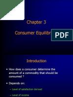 Consumer Equlibium