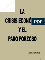 La crisis económica y el paro forzoso