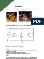 Qué es el baloncesto