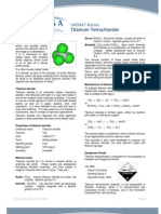 HAZMAT Articles - Titanium Tetrachloride