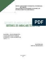 Sistemul de Ambalare Tetra - Pak