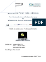 Guide de Maintenance d'Ordinateur Portable