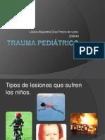 Trauma pediátrico