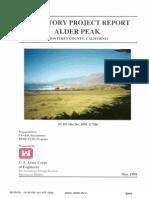 Alder Peak Gunnery Range