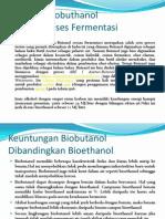Produksi Biobuthanol