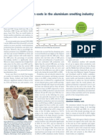 Analyses of Production Costs,Aluminium Journal,July 2012