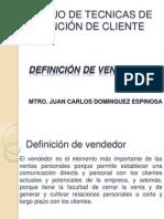 DEFINICIÓN DE VENDEDOR 2012