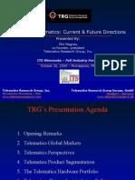 TRG ITS Telematics 102604