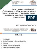Apresentação Taxa de segurança pública