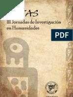 Actas III de Investigación en Humanidades (UNSur, 2009)