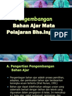 Pengembangan Bahan Ajar( HO ESP Mat Dev Topic 5-8)
