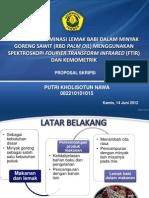 ppt seminar FTIR