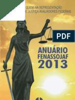 Anuário da Fenassojaf 2.013