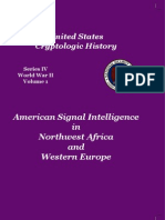 American Signal Intelligence in Northwest Africa and Western Europe