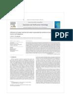 Artigo 4 separação membrana modificada