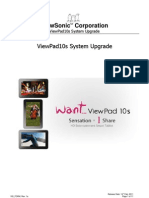 E-ViewPad 10s Firmware Update SOP