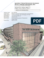 Union Station Phase 1 Tiger Grant Application