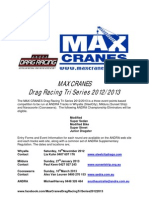 ANDRA MAX Cranes 2012-13 Tri Series Cover Sheet FINAL