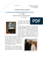 The Italian Memorandum - May 2012 Report