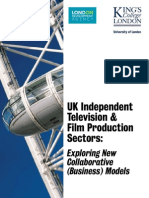 Uk Independent Television Film Production Sectors