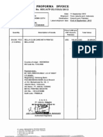 Contoh Proforma Invoice
