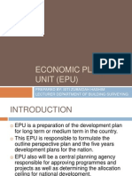 Economic Planning Unit (Epu)