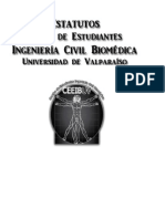 Estatutos Ing. Civil Biomédica - Propuesta Final