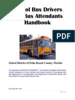 School Bus Operators and Bus Attendant Handbook